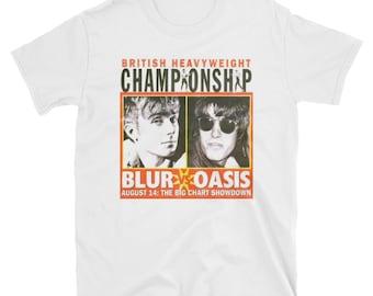 Oasis vs Blur T-Shirt