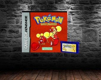 Pokemon Moemon - Catch your own Waifu! Train! Battle - GBA - Pokemon Fire Red