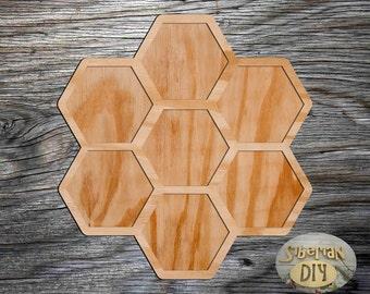 "Workpiece of wood for decoupage ""Photo-frame [3]"""