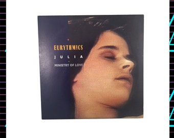 Eurythmics - Julia/Ministry of Love LP Record, 1985 Vintage Vinyl Record Album, Electronic, Synthpop