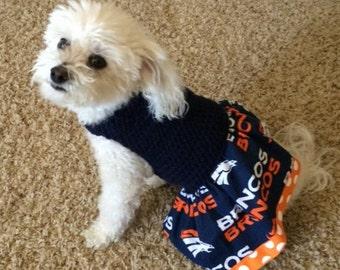 Dog Dress with Team Spirit!