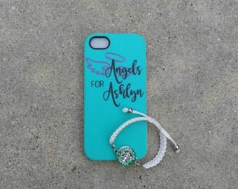 Angels For Ashlyn iPhone 5 case