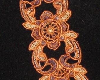 Wendy Embroidered Cuff