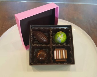 4 Piece Box of Chocolates