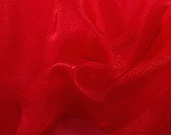 "Crystal Organza Fabric 58"" Wide"