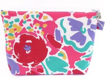 Colourful wash bag