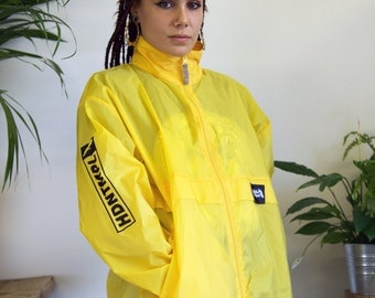 YELLOW HDNTMPLE Windbreaker Jacket
