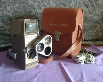 Vintage Bell & Howell Model 333 8mm Movie Camera