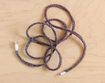 Crochet Cord Charger -- iPhone, iPad, iPod