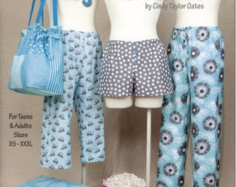 Sew Easy Pajama Pants Sewing Patterns