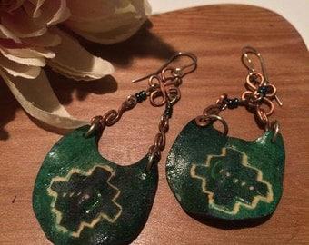 Aymara Ethnic earrings