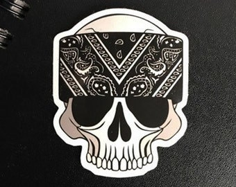 Bone-Dana Vinyl Die-Cut Sticker