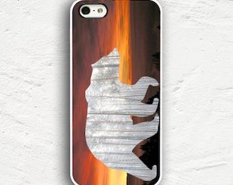 Sunset Bear iPhone 7 Case iPhone 7 Plus Case iPhone 6s Case iPhone 6 Plus Case iPhone 5s iPhone 5 Case iPhone 5c Cover