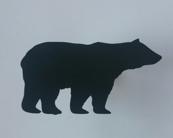 Bear hitch cover, hitch cover, animal hitch cover, wildlife hitch cover