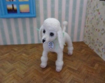 SALE 40 % Roan-  standard/kingsize poodle OOAK dog
