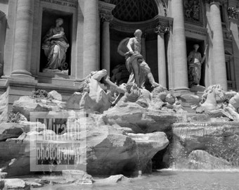 Trevi Fountain, Rome Photography