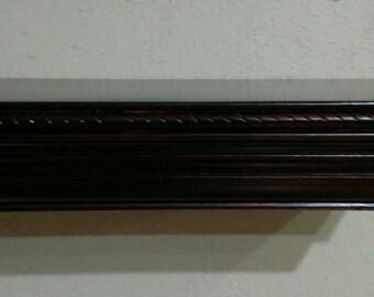 Custom made concealment shelf