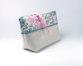 Liberty & Top Quality Fabric - Cosmetic Bag