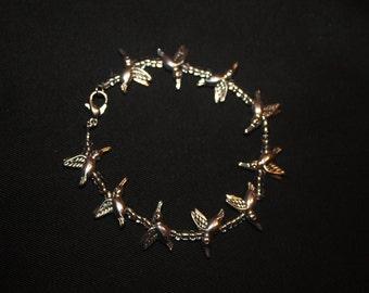 Woman's Hummingbird Bracelet