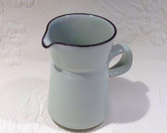 Denby Celadon creamer England - celadon blue Creamer House Denby / / made in Agnleterre