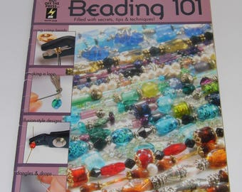 Beading 101 Book - Secrets, tips and techniques-Jewelry how to-Ships Priority Worldwide!