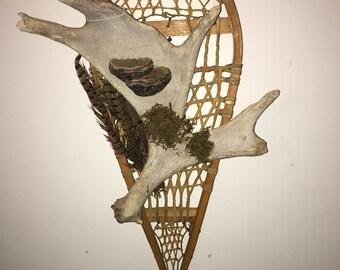 Custom Moose antler snowshoe