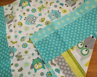 Whimsical Owl Changing Pad