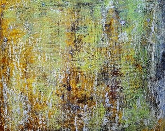 Lost in a wood (n.287) - 90 x 80 x 2,50 cm - ready to hang - acrylic painting on stretched canvas