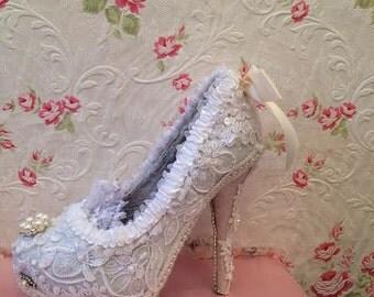 Bridal Shoe, Decorative Shoe, Wedding Shoe, Decorative