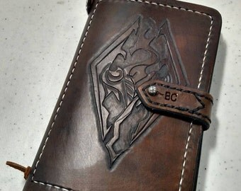 Skyrim Leather Notebook (Handmade)