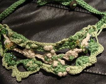 Chain * crochet jewelry * crochet chain * necklace * crochet