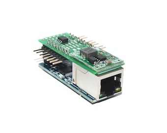 mini monster ethernet web ip lan internet relay control temperature thermometer humidity module with snmp and json
