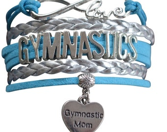 Gymnastics Gift- Gymnastics Bracelet – Gymnastics Mom Gift - Gymnastics - Perfect for Gymnastics Moms & Gymnastics Team Gifts