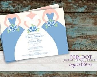 "Bridal Luncheon Invitation - 5""x7"""