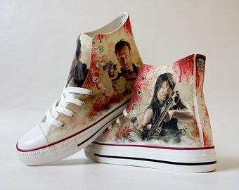 Zombie hunter shoe decoration