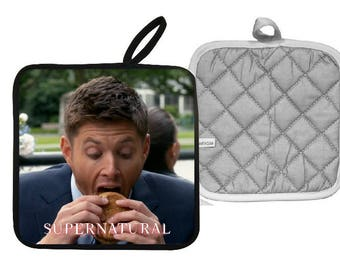 Supernatural  Dean Winchester Pot Holder