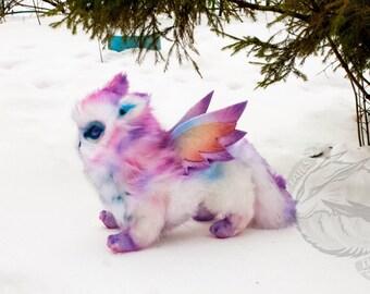 Plush soft toy Owlcat
