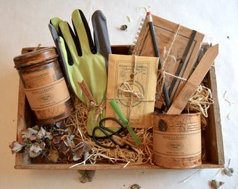 Green Fingers Gardening Collection // Gardener Gift Set // Gift Boxes // Gifts for Her // Gifts for Him //