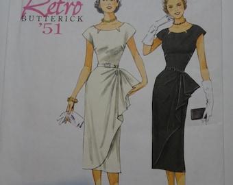 Butterick Retro 5880 Dress Pattern Sizes 6-8-10-12-14