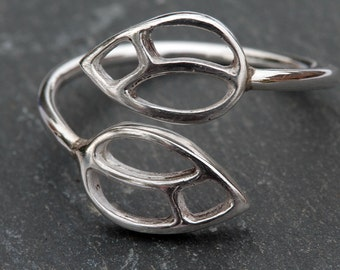 Silver Bud Ring