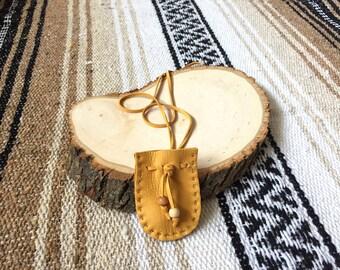 Mini Gold Medicine Bags