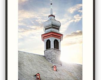 German Steeple, Wall Art, Framed Photography, Fine Art, Home Decor, Photography, Europe, Travel,