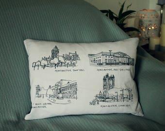 Manchester Landmarks Cushion