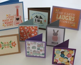 A set of 8 cards for any occasion