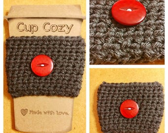 Cup Cozy / Coffee Sleeve / Gift For Her / Gift For Him / Coffee Lover Gift / Travel Mug Sleeve / Coffee Cup Cozy / Cup Sleeve / Gift Idea