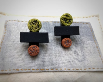Minimal Geometric Designer Earrings