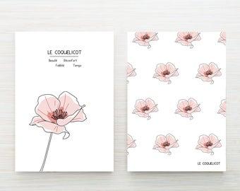 Spring flower card - Poppy