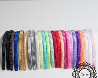 Poly Braid Covered Plastic Headband | CF000