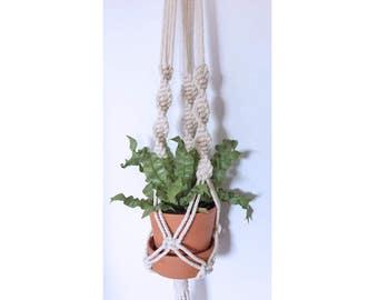 Flowerpot pendant Macrame to Hera plants