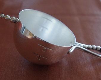 Vintage Napier bottoms up Jigger - measuring - measuring cup - 50s - very rare - original - Pat Pend